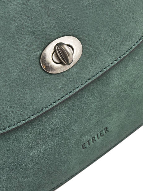 Shoulder Bag Casac Leather Etrier Green casac ECAS02 other view 1