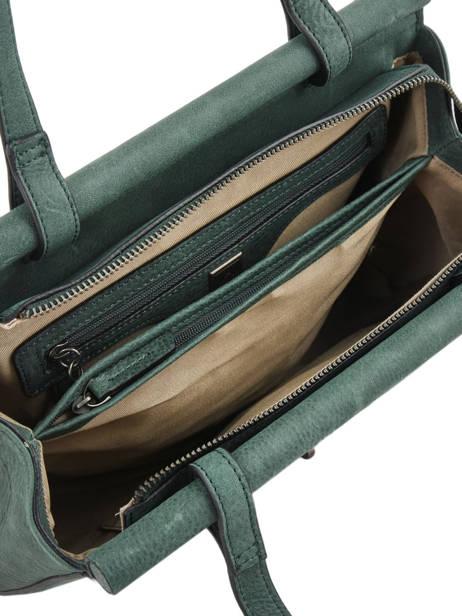 Shopper Casac Leather Etrier Green casac ECAS04 other view 4