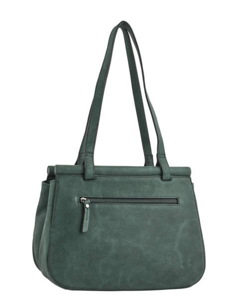 Shopper Casac Leather Etrier Green casac ECAS04 other view 3