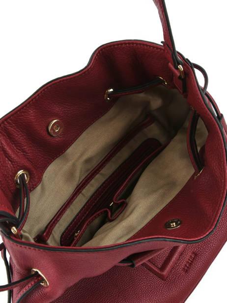 Shoulder Bag Paris Leather Etrier Red paris EPAR10 other view 4