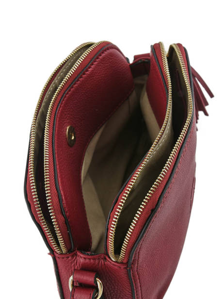 Shoulder Bag Paris Leather Etrier Red paris EPAR08 other view 4