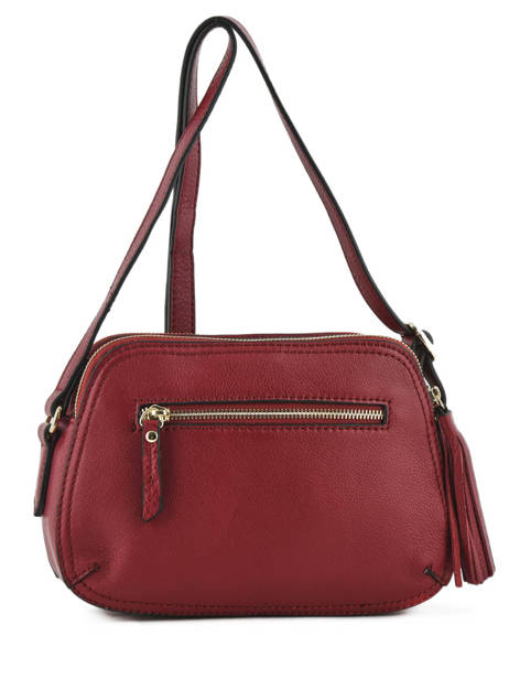 Shoulder Bag Paris Leather Etrier Red paris EPAR08 other view 3
