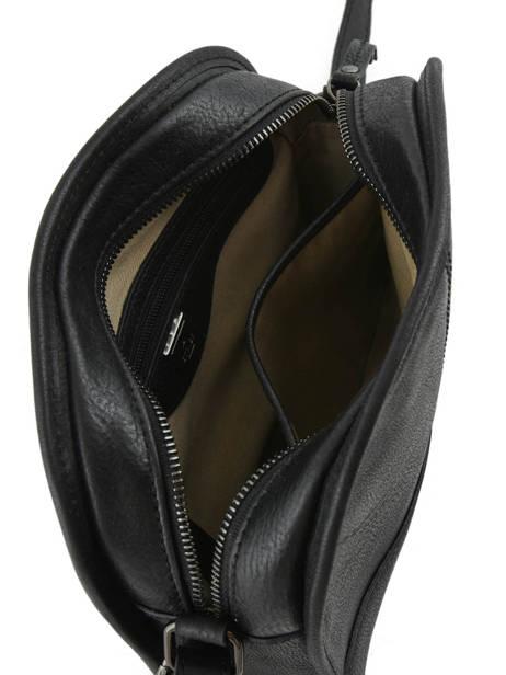 Shoulder Bag Galop Leather Etrier Black galop EGAL01 other view 5