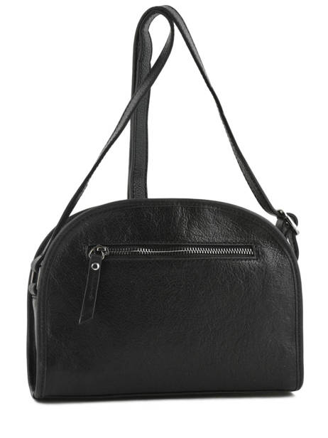 Shoulder Bag Galop Leather Etrier Black galop EGAL01 other view 4