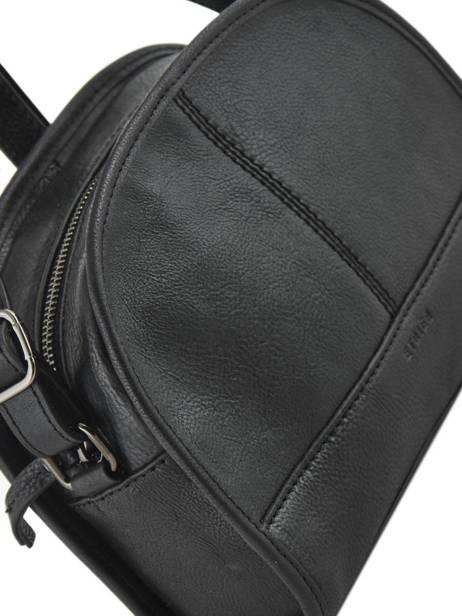 Shoulder Bag Galop Leather Etrier Black galop EGAL01 other view 1