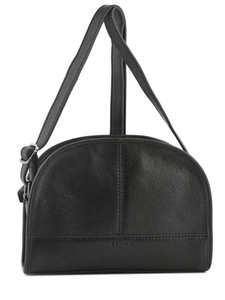 Shoulder Bag Galop Leather Etrier Black galop EGAL01