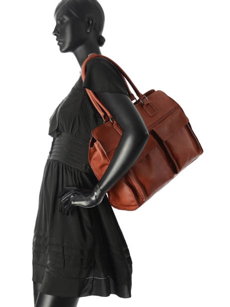Shopper Galop Leather Etrier Brown galop EGAL04 other view 2