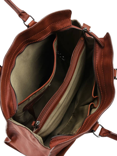 Shopper Galop Leather Etrier Brown galop EGAL04 other view 4