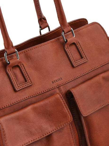 Shopper Galop Leather Etrier Brown galop EGAL04 other view 1