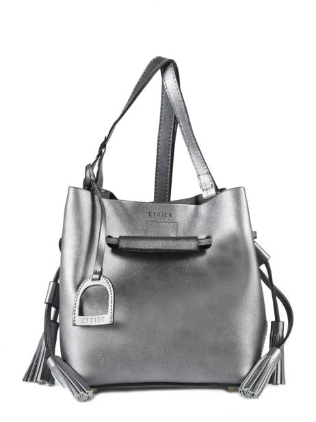 Crossbody Bag Kyo Leather Etrier Silver kyo EKY605