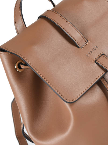Backpack Etrier Brown kyo EKY608 other view 1