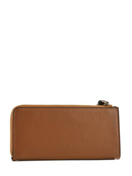 Wallet Leather Etrier Brown paris EPAR95B other view 1