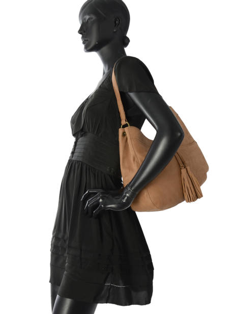 Shopper Allure Leather Etrier Brown allure EBALL06 other view 2