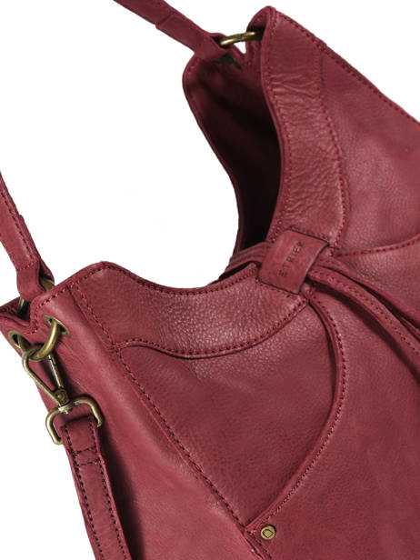 Shopper Allure Leather Etrier Red allure EBALL06 other view 1