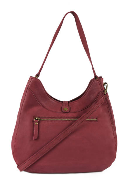 Shopper Allure Leather Etrier Red allure EBALL06 other view 4