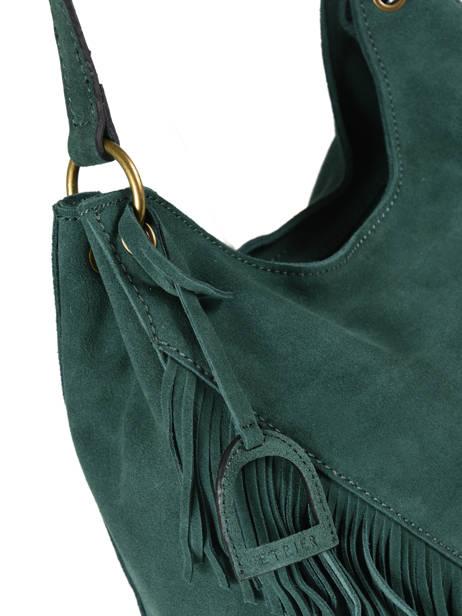 Hobo Bag Cheyenne Etrier Green cheyenne ECHE03B other view 1