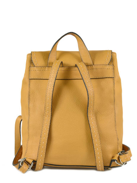 Backpack Etrier Yellow tradition EHER026 other view 3