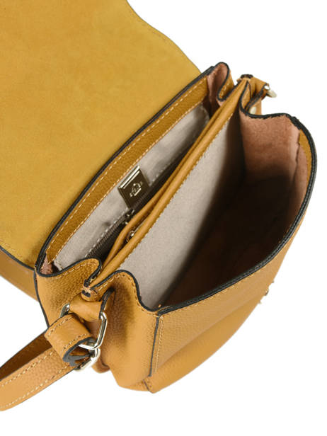 Shoulder Bag Tradition Leather Etrier Yellow tradition EHER022 other view 4