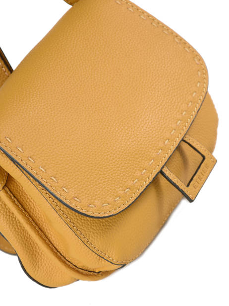 Shoulder Bag Tradition Leather Etrier Yellow tradition EHER022 other view 1