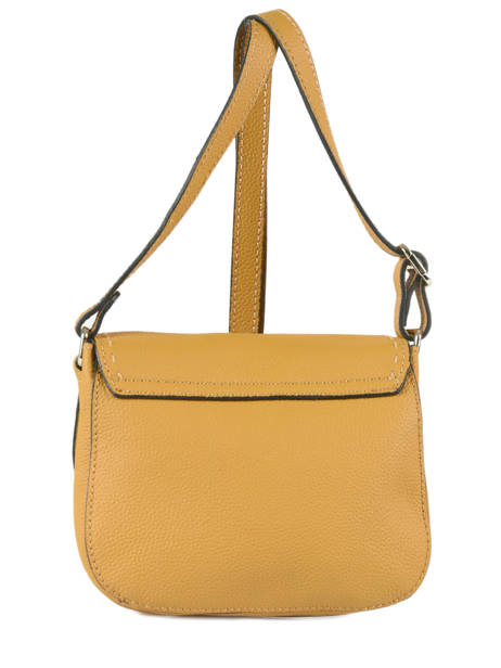 Shoulder Bag Tradition Leather Etrier Yellow tradition EHER022 other view 3