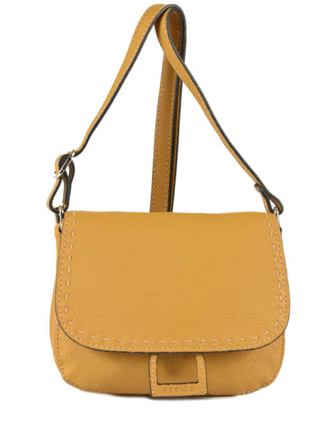 Shoulder Bag Tradition Leather Etrier Yellow tradition EHER022
