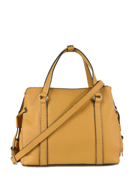 Shopper Tradition Leather Etrier Yellow tradition EHER024 other view 4