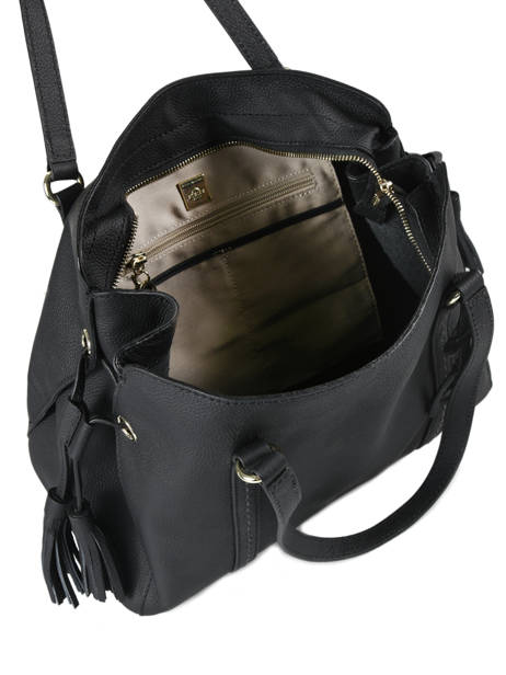 Shopper Tradition Leather Etrier Black tradition EHER024 other view 5