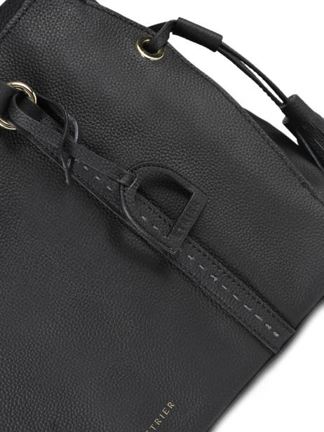 Shopper Tradition Leather Etrier Black tradition EHER024 other view 1