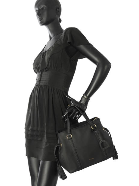 Shopper Tradition Leather Etrier Black tradition EHER024 other view 2