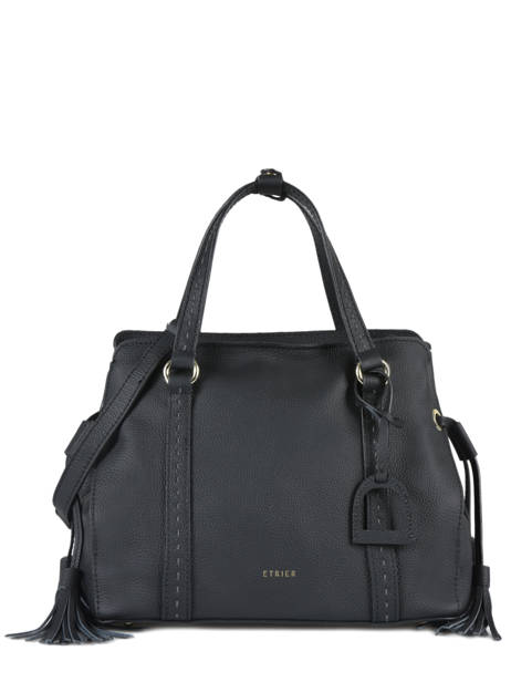 Shopper Tradition Leather Etrier Black tradition EHER024