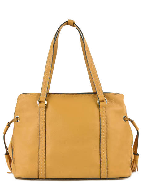 Shopper Tradition Leather Etrier Yellow tradition EHER025 other view 4