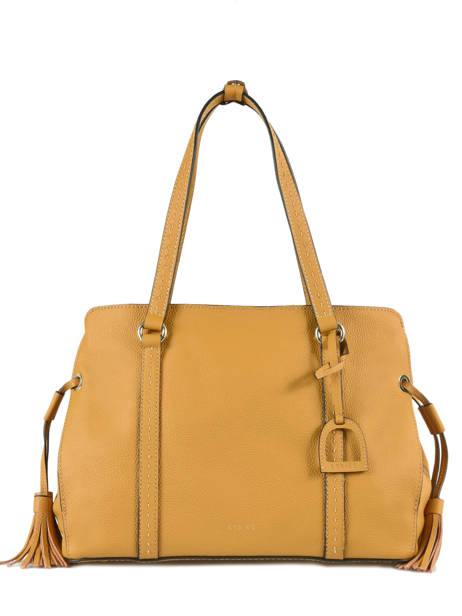 Shopper Tradition Leather Etrier Yellow tradition EHER025