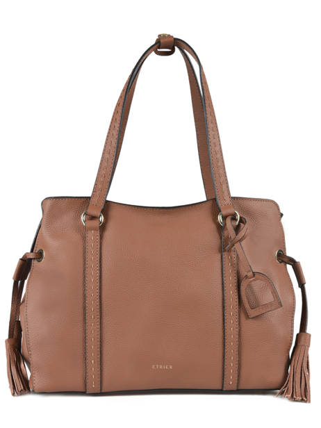 Shopper Tradition Leather Etrier Brown tradition EHER025