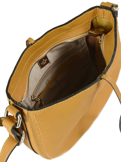 Crossbody Bag Tradition Leather Etrier Yellow tradition EHER003A other view 4