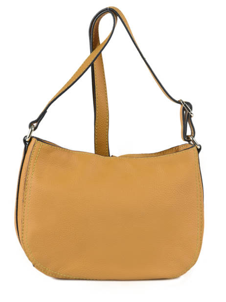 Crossbody Bag Tradition Leather Etrier Yellow tradition EHER003A other view 3