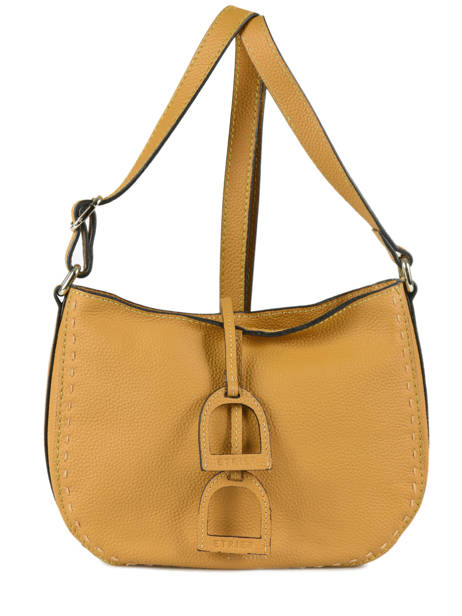Crossbody Bag Tradition Leather Etrier Yellow tradition EHER003A