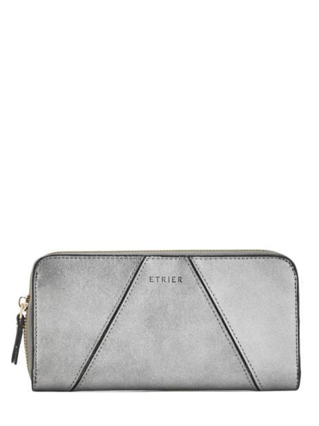 Wallet Leather Etrier Silver kyo EKY901