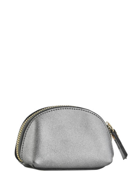Purse Leather Etrier Silver kyo EKY902 other view 2