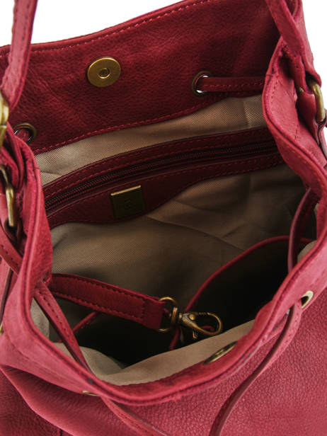 Crossbody Bag Allure Leather Etrier Red allure EBALL07 other view 4