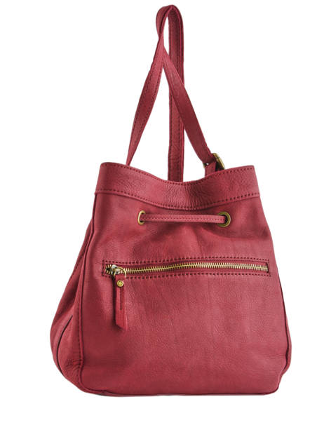 Crossbody Bag Allure Leather Etrier Red allure EBALL07 other view 3