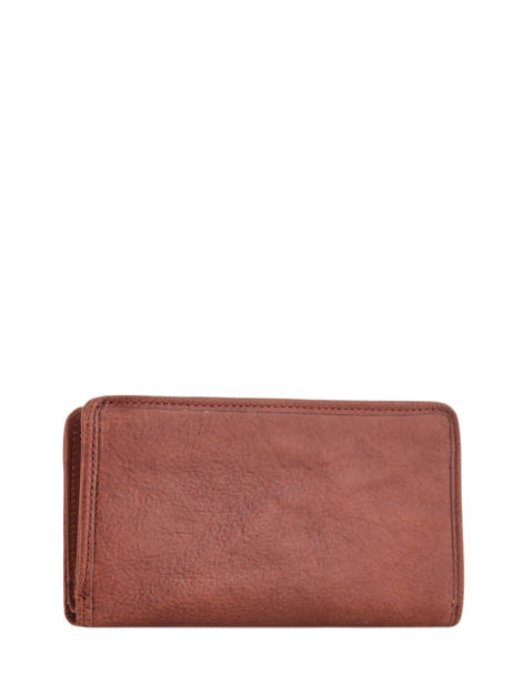 Wallet Leather Etrier Brown galop EGAL906 other view 2