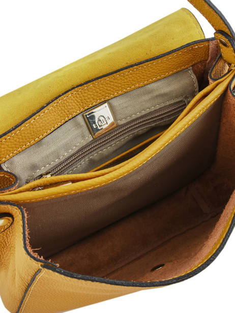Crossbody Bag Tradition Leather Etrier Yellow tradition EHER023 other view 4