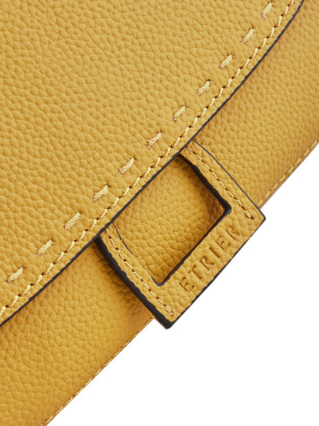 Crossbody Bag Tradition Leather Etrier Yellow tradition EHER023 other view 1