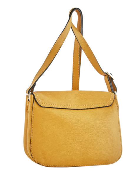 Crossbody Bag Tradition Leather Etrier Yellow tradition EHER023 other view 3