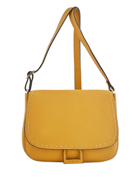 Crossbody Bag Tradition Leather Etrier Yellow tradition EHER023
