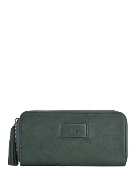 Wallet Leather Etrier Green allure EBALL91C