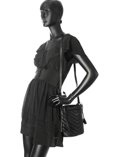 Crossbody Bag Attelage Leather Etrier Black attelage EATT02 other view 4