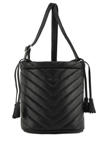 Crossbody Bag Attelage Leather Etrier Black attelage EATT02
