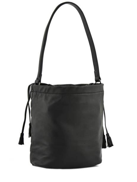 Bucket Bag Attelage Leather Etrier Black attelage EATT04 other view 3