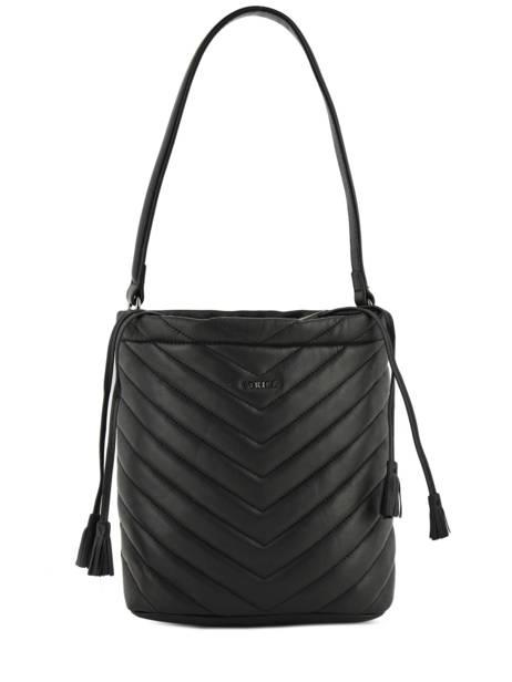 Bucket Bag Attelage Leather Etrier Black attelage EATT04